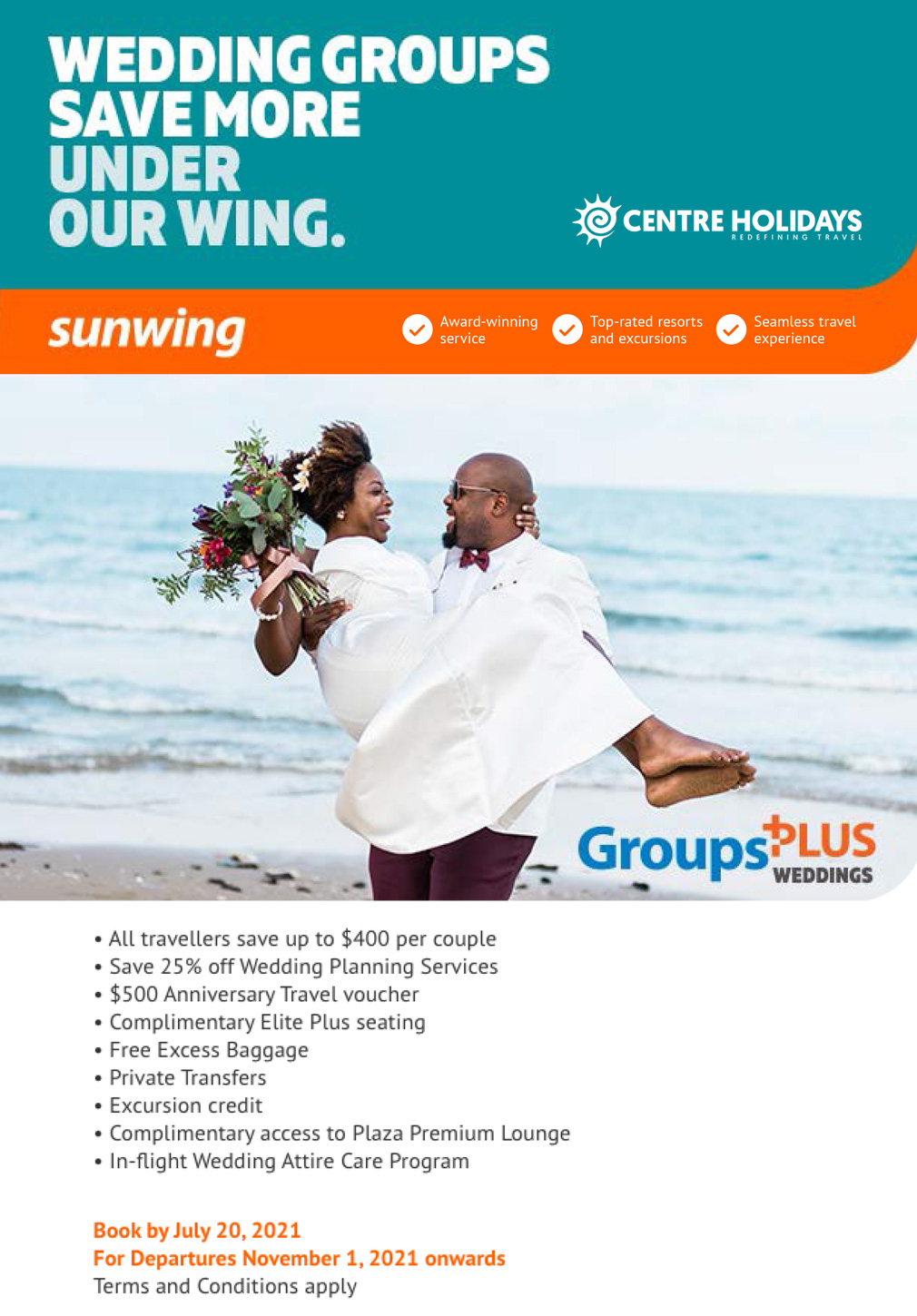 Wedding Groups Save More